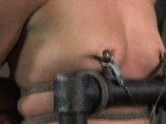 Restrained sub has her...